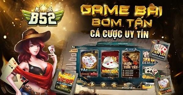 Game bài xì tố B52club – game bài uy tín và tin cậy hàng đầu